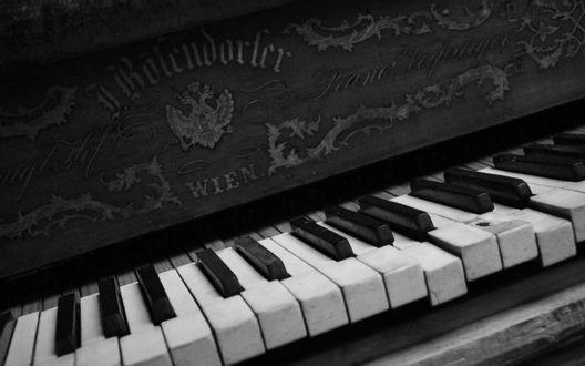 Обои Старое пианино Bцsendorfer (Wien)