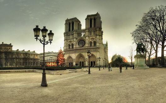 Обои Собор Парижской Богоматери / Notre Dame de Paris, Париж, Франция / Paris, France
