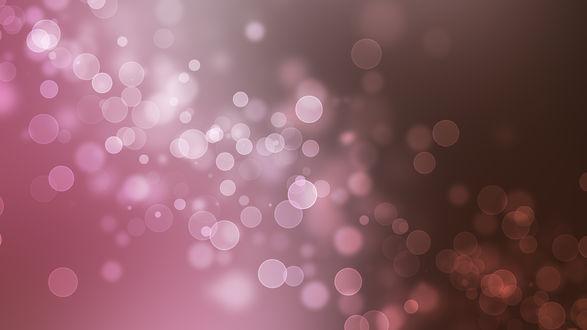 Обои Абстрактивные розовые блики