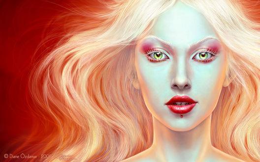 Картинки красивая светловолосая девушка