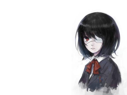 Обои Арт, Мисаки Мэй / Misaki Mei из аниме Иная / Another