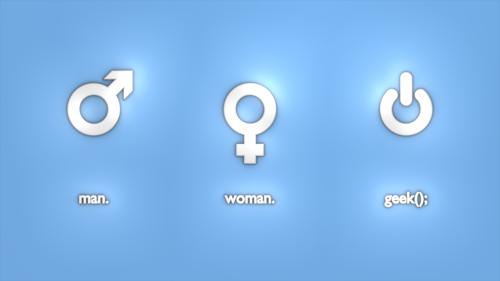 значки мужчины и женщины: