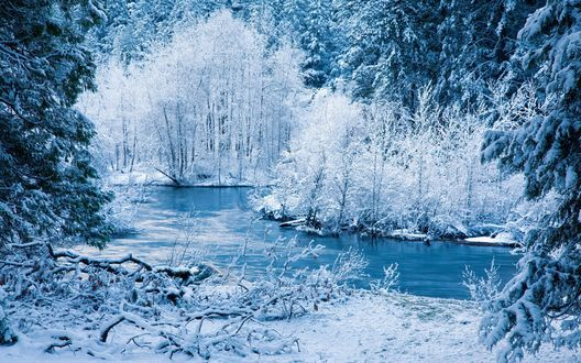 Зимние Водопады Обои На Рабочий Стол