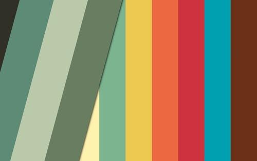 Обои полосатая цветная текстура