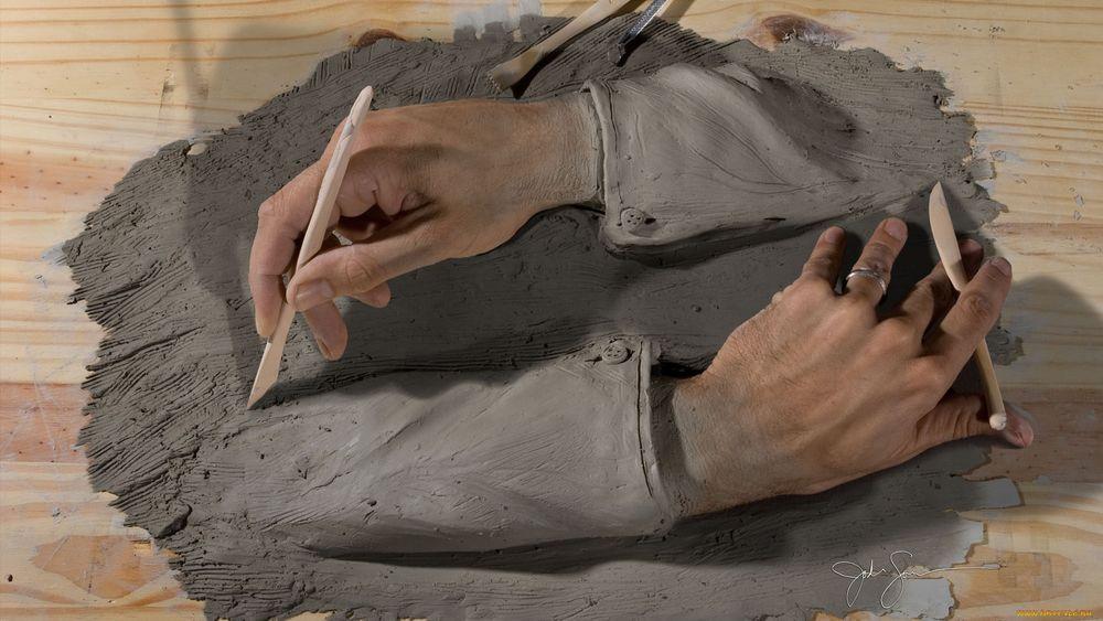 Своими руками из скульптурной глины