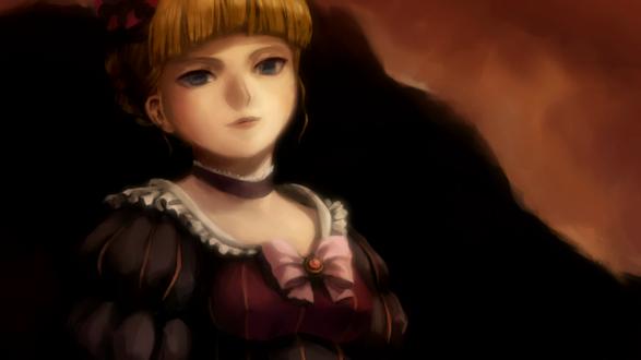 Обои Портрет Беатриче / Beatrice из аниме ''Когда плачут чайки'' / ''Umineko no Naku Koro ni''