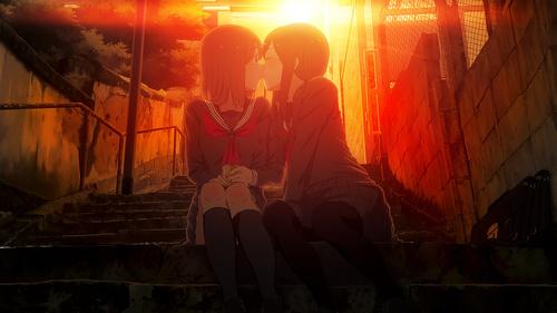 девушки целуются картинки: