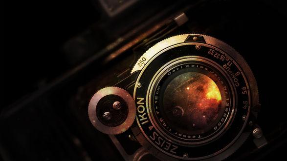 Обои Космос в объективе немецкой компании Карл Цейс / Carl Zeiss (ZEISS IKON Carl Zeiss Jena)