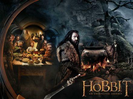 Обои Постер к фильму Хоббит: Нежданное путешествие / The Hobbit: An Unexpected Journey