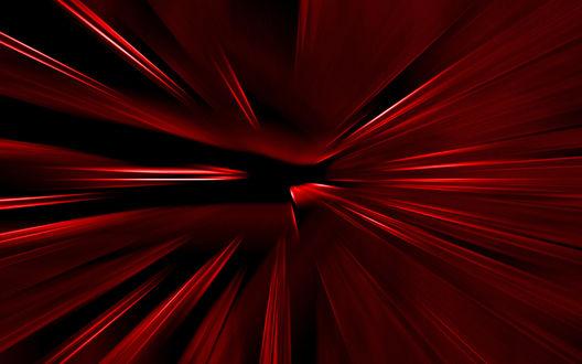 Обои Красная абстракция