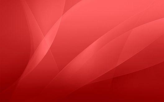 Обои Красный фон в стиле Макинтош / Macintosh