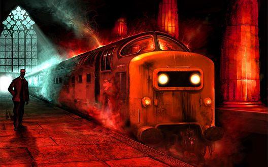 Обои Поезд в ад