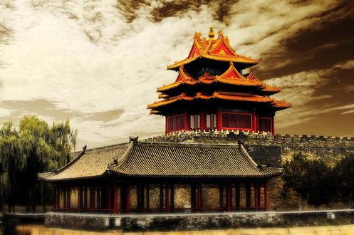 Обои Японский дом