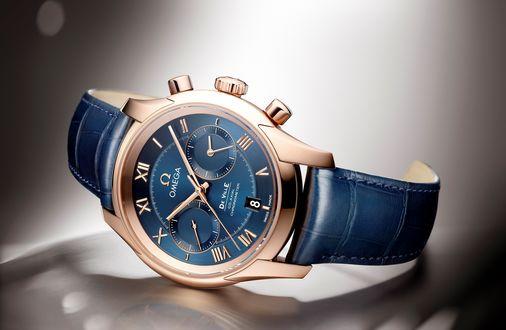 Обои Швейцарские мужские часы Omega / Омега