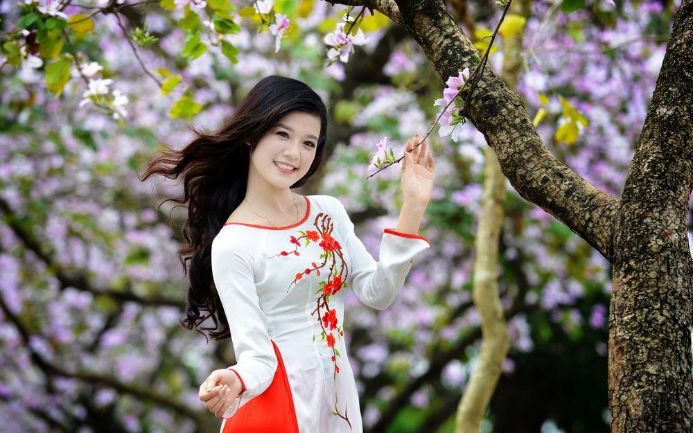 Красивые девушки азиатской внешности
