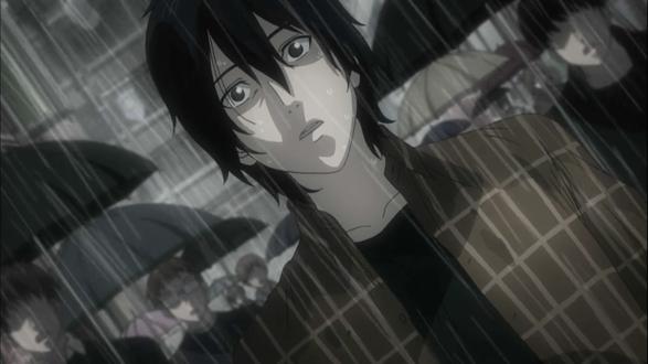 Обои Кадзуеси Усуй / Свитч / Kazuyoshi Usui / Switch под дождем, из аниме Скет Данс / Sket Dance