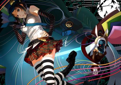 Обои Мари / Marie из игры и аниме Персона 4 / Persona 4