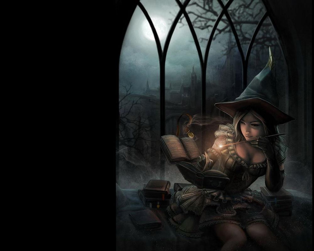 Обои ведьмочка. Разное foto 6