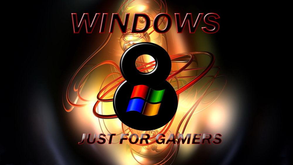 Обои для рабочего стола WINDOWS 8 / Виндоус Восемь (just for gamers / только для геймеров)