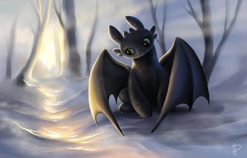 Как приручить дракона Беззубик против Злобного
