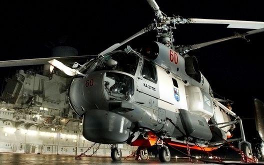 Обои Корабельный поисково-спасательный вертолет Ка-27ПС