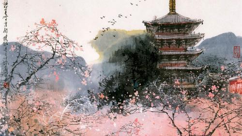 фотообои в японском стиле: