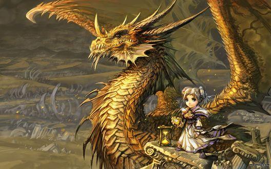 Обои Путешественница во времени Хроми / арт к игре World Of Warcraft / художник Yaorenwo