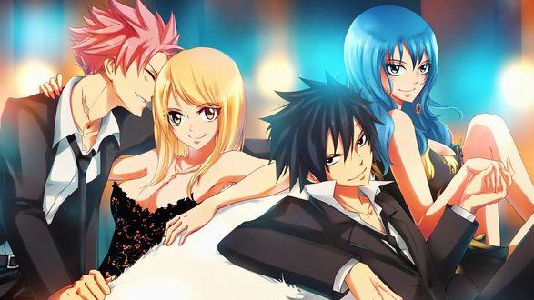 Обои Персонажи из аниме Сказка о хвосте феи / Fairy Tail