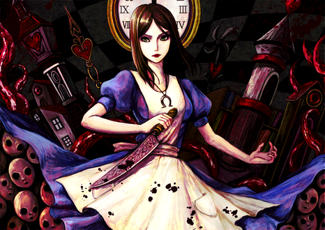 Обои Алиса / Alice из игры Алиса Безумие Возвращается / Alice Madness Returns