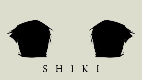 Обои Глаза из аниме Усопшие / Shiki