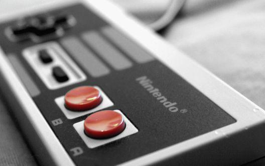 Обои Геймпад Нинтендо / Nintendo, тип игрового манипулятора