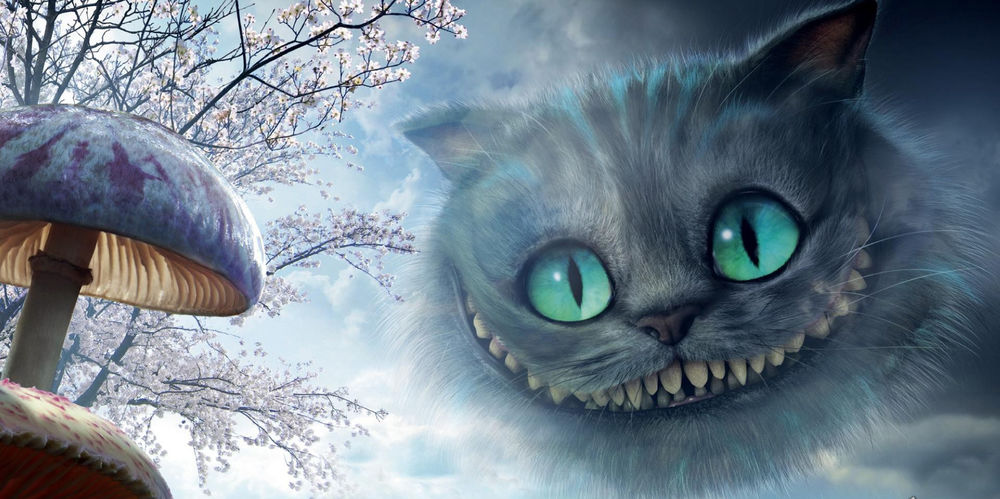 Кот и фильма алиса в стране чудес