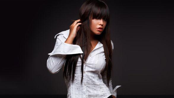 Девушка в рубашке связаная фото 380-115