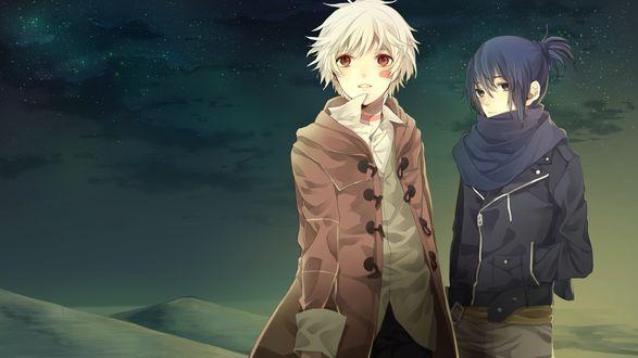 Обои Nezumi / Нэдзуми и Шион / Shion из аниме Шестая Зона / NO 6