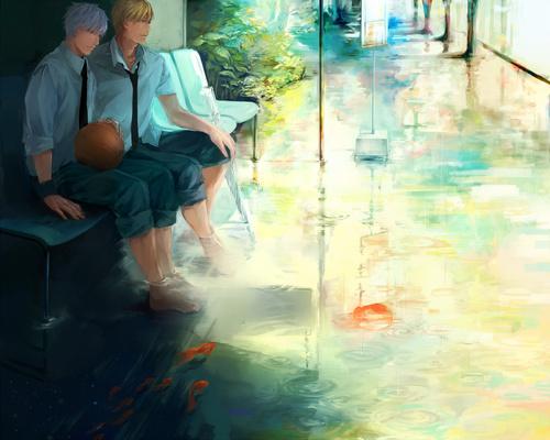 Из аниме kuroko no basuke баскетбол куроко