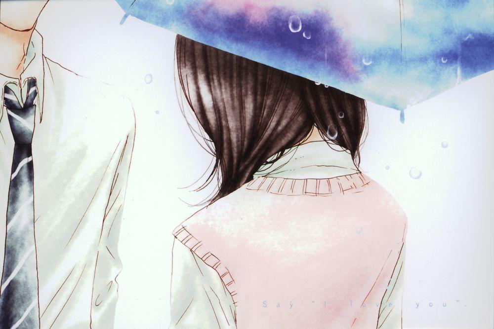 Поздравления днем, картинки люблю тебя аниме