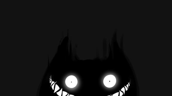 Монстр с красными глазами без смс