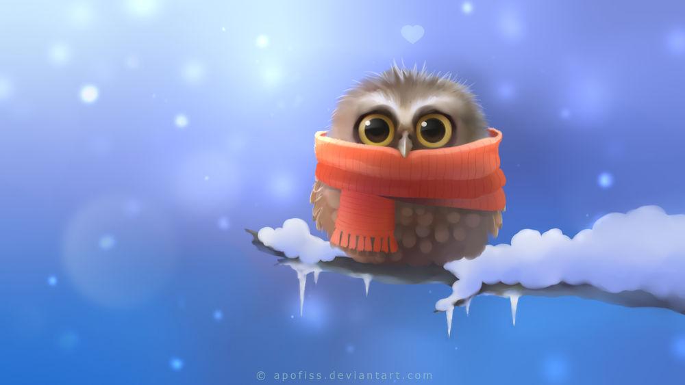Картинки сердечки зима