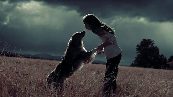 Девка с псом фото 70-769