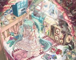 ���� Vocaloid Hatsune Miku / �������� ������� ���� ������� ������, ���� �� �������  �����, �������, �����