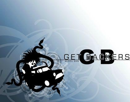 Обои Ban Mido / Бан Мидо из аниме Getbackers / Агенство по возврату утраченного