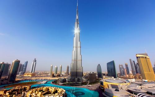 Обои Самое высокое в мире здание Бурдж-Халифа / Burj Khalifa ...