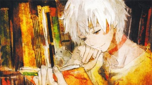 аниме картинки книги:
