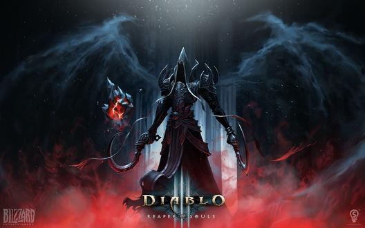 Обои Жнец душ / Reaper Of Souls, арт к игре Diablo 3, Blizzard Entertainment