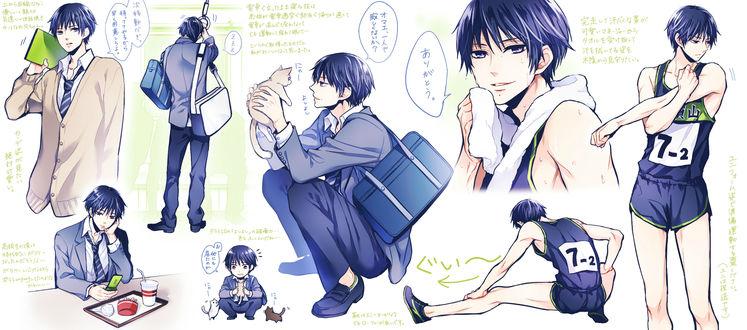 Обои Asahina Natsume / Асахина Натцуме из аниме Brothers Conflict / Конфликт братьев