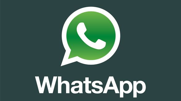 Обои Логотип программы WhatsApp