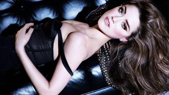 Обои Американская актриса и модель Эмбер Херд / Amber Heard