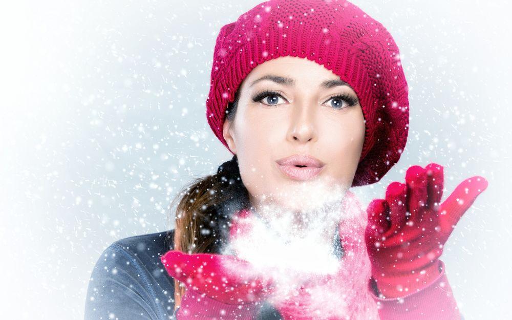 ладошек картинки снег с сдувать