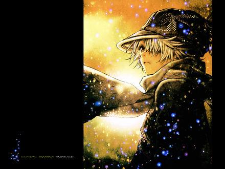 Обои Лаг Сиинг / Lag Seeing из аниме и манги Tegami Bachi / Почтовая Пчела / Letter Bee (Jump square, Tegamibachi, Hiroyuki Asada)