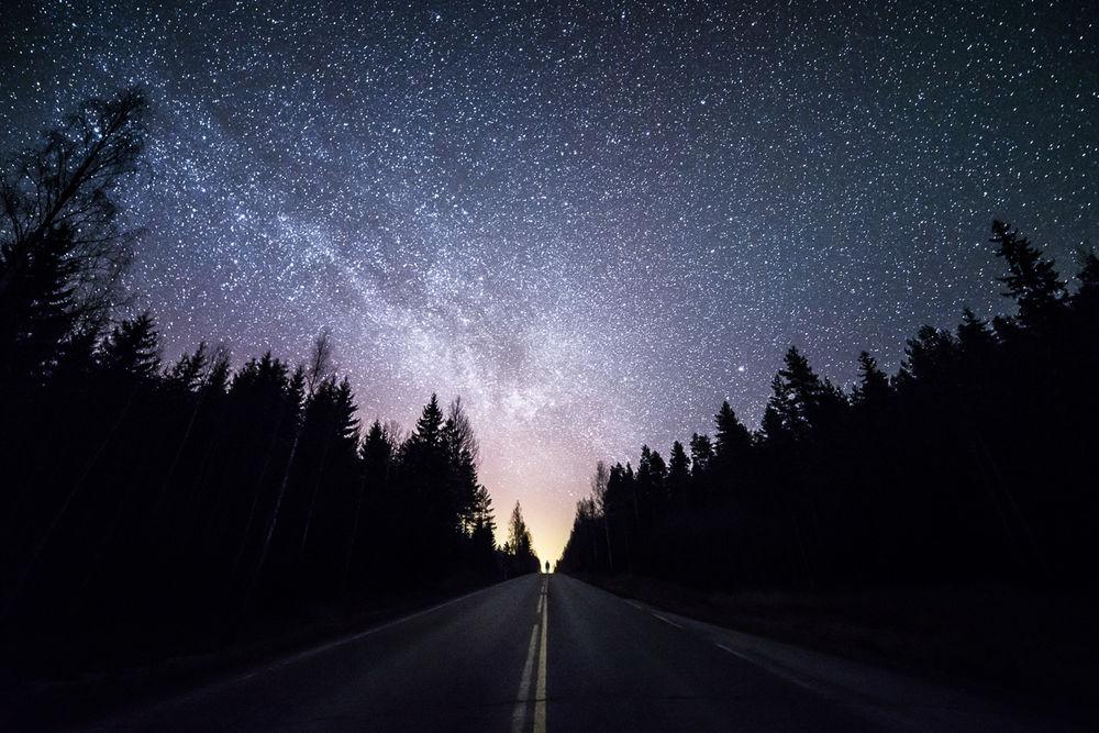 Звездное Небо Обои На Телефон